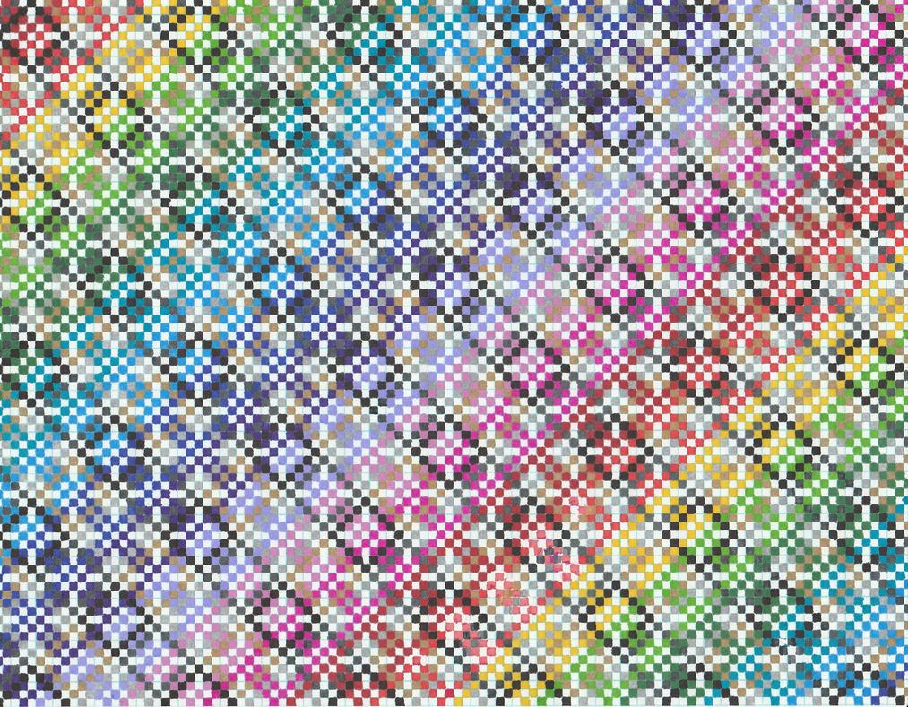 Rainbow diamonds in diamonds by Moonstrider1