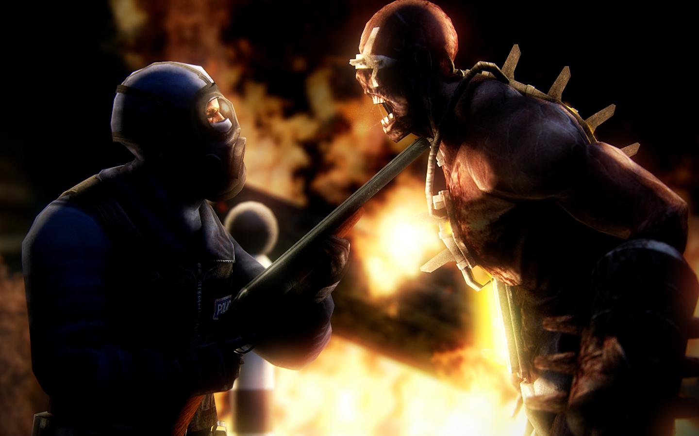 Sgt. Davin Versus Fleshpound by Nirwrath