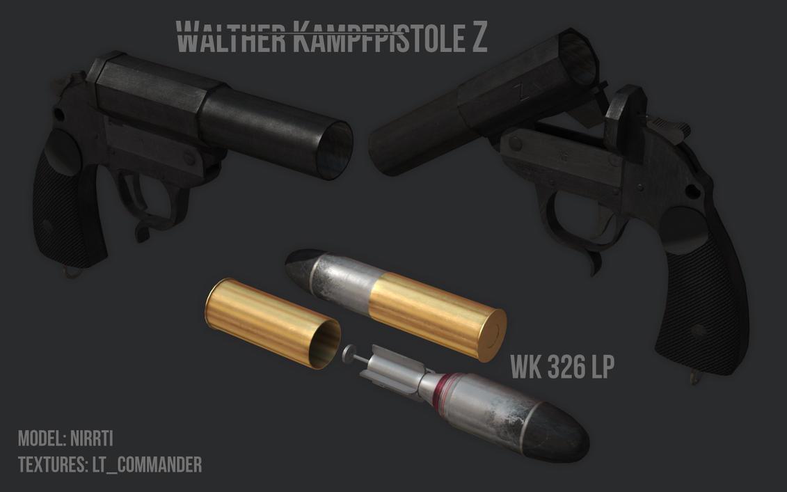 Walther Kampfpistole Z final by Nirwrath