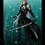 doll 2 -Sephiroth by kazza-spexy