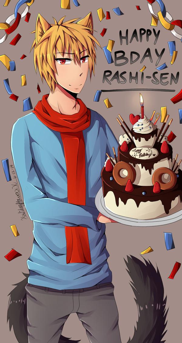 Happy Birthday!! by xSilverflowerx