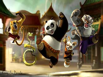 kung fu panda by macboy1