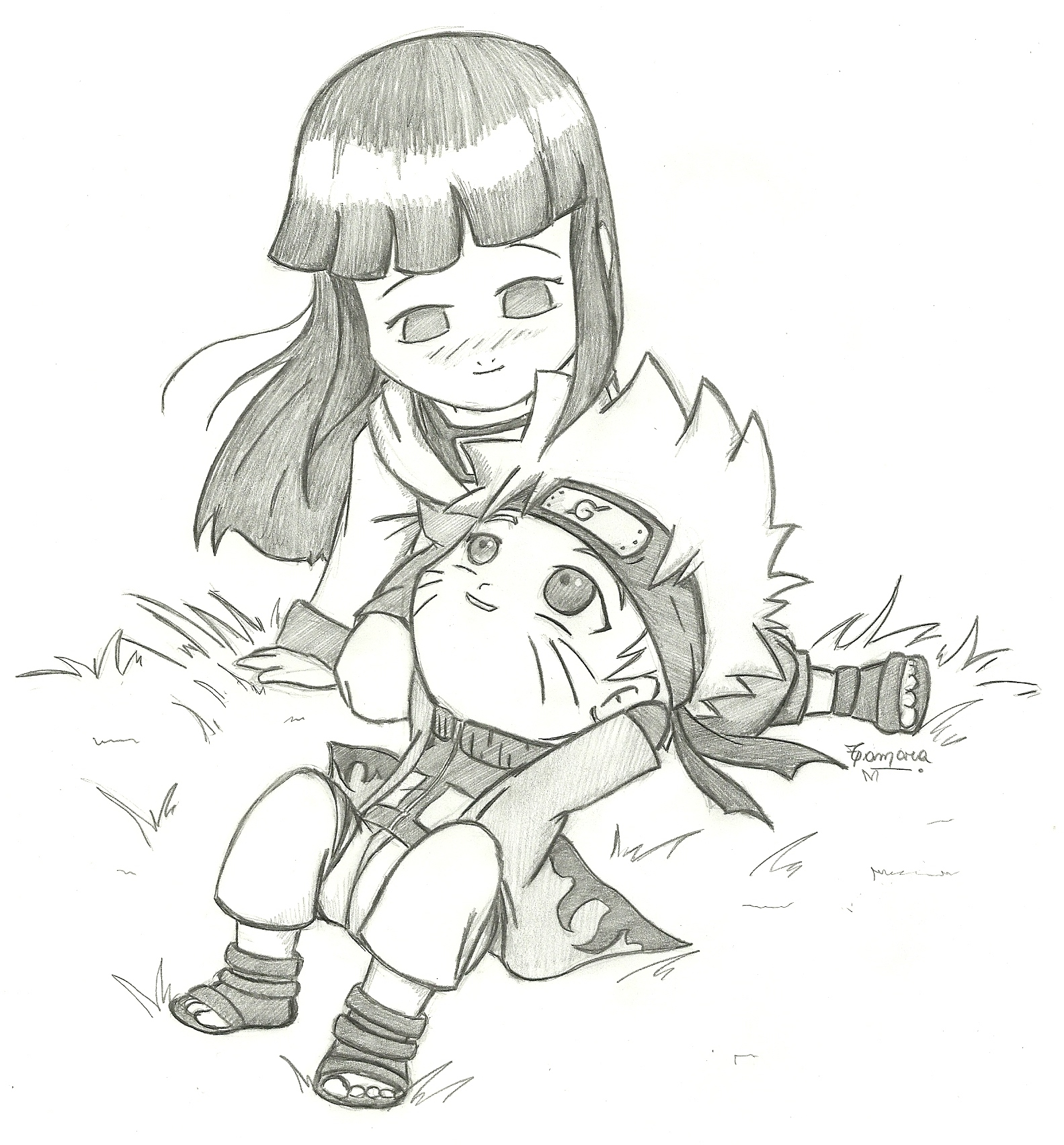 Naruto y Hinata by TamarayGisela on DeviantArt