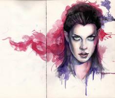 watercolors... by mekhz
