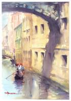 Venice Bridge of Sighs by mekhz