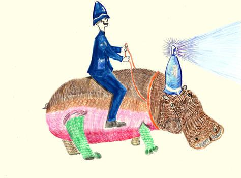 Police Hippo