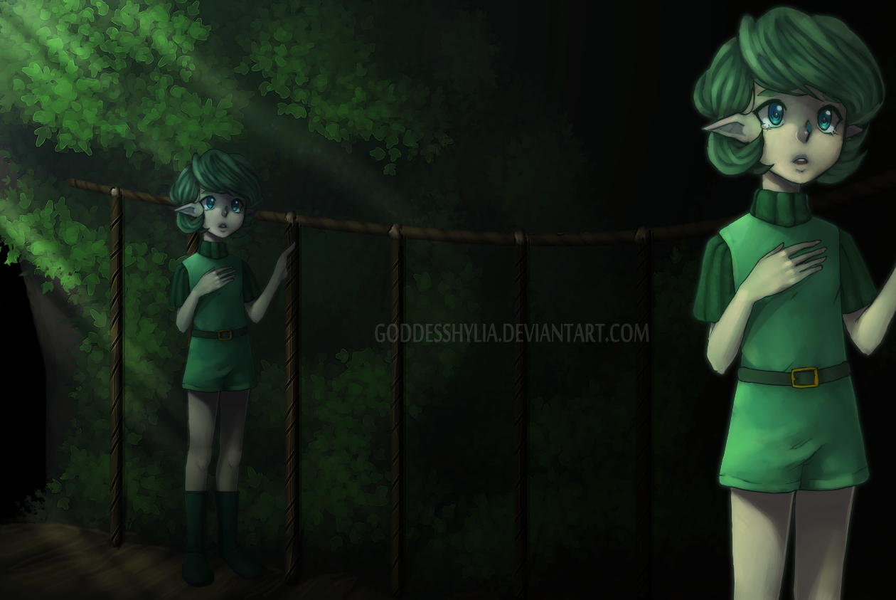OoT: Saying farewell. by GoddessHylia