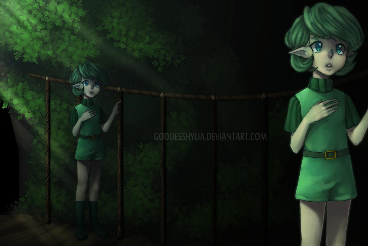 OoT: Saying farewell. by GoddessHylia