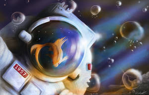 Goldfish In Space