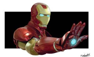 Iron Man by Paul-James-Kintas