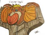 Pez Wolf Pumpkins