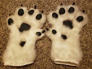 Pez Wolf Fursuit Hand Paws v1