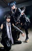 Kuroshitsuji: Dark music by christie-cosplay
