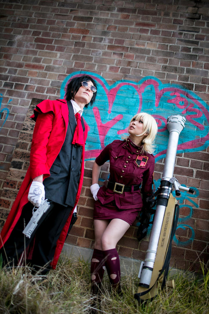 HELLSING: Sir Yes Sir! by christie-cosplay
