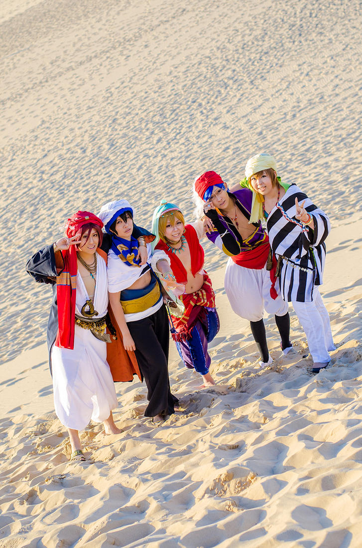 FREE! - For the Team by christie-cosplay