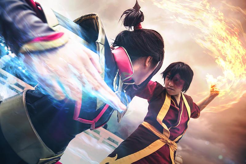 Avatar: TLA - Final Agni Kai 01 by christie-cosplay