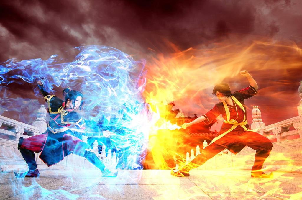 Avatar: TLA - Final Agni Kai 02 by christie-cosplay