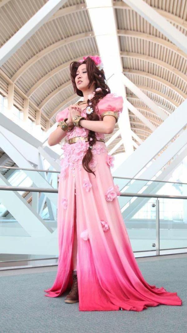 Hannah Alexander: FFVII Aerith by christie-cosplay
