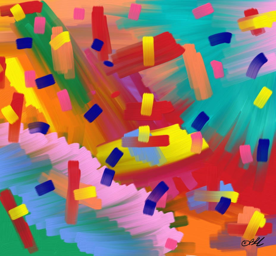 Confetti by cosartmic