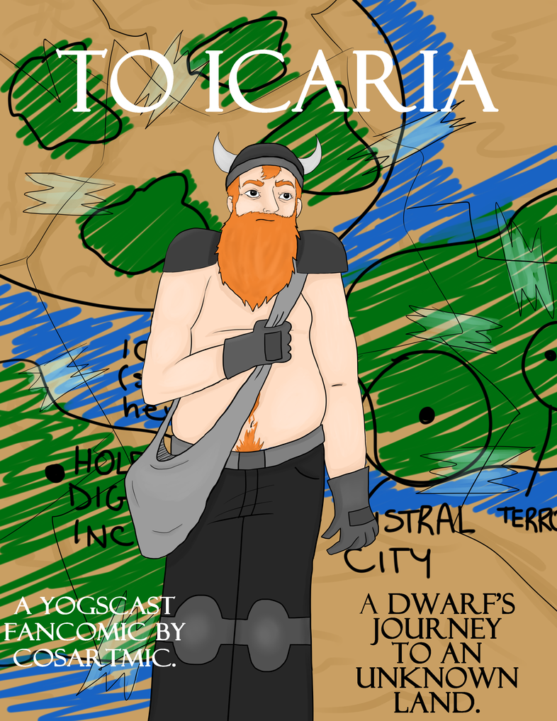 To Icaria - Cover Page (READ DESCRIPTION) by cosartmic