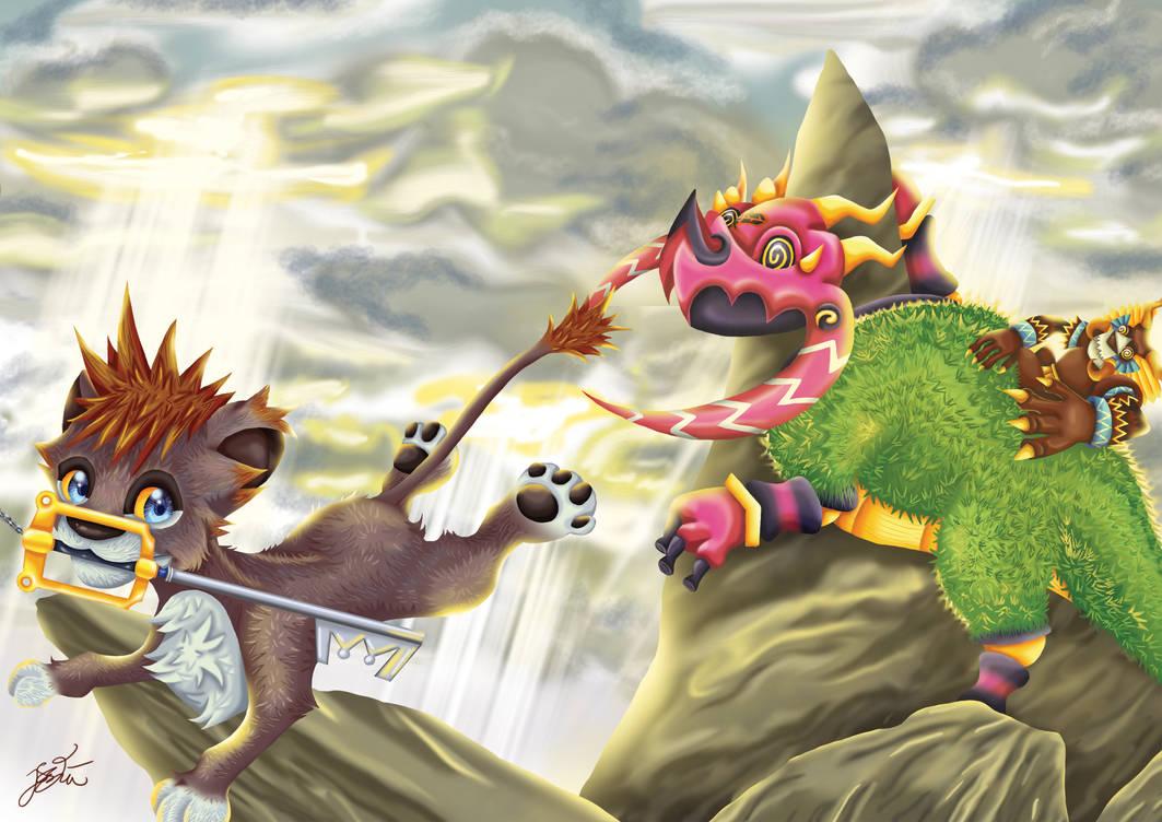 Boss Battle - Kingdom Hearts 2
