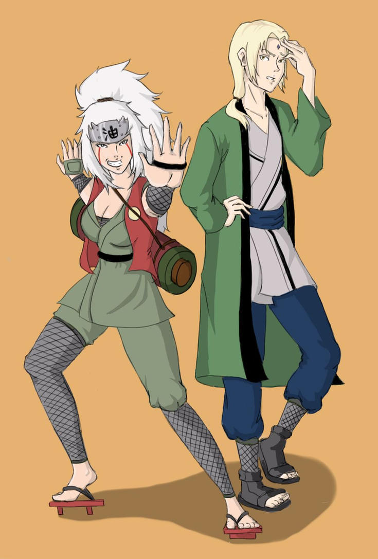 in what episode does naruto meet lady tsunade