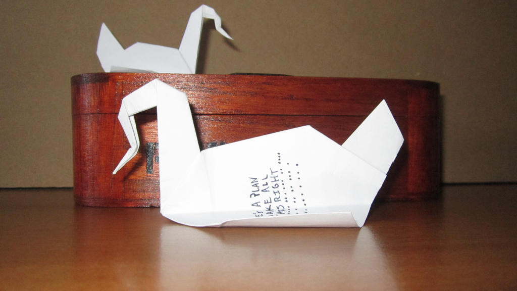 prison break box michael scofield origami by movieprops on