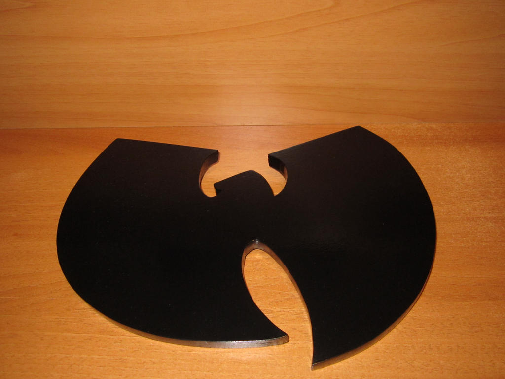 Wu Tang Clan Logo In Legno Da Appendere By Movieprops On Deviantart
