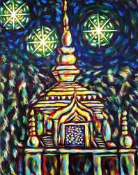 Thai Temple #1 by lamPkin