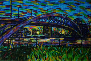 Pedestrian Bridge by lamPkin