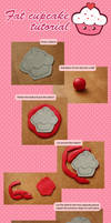 Flat Cupcake Tutorial