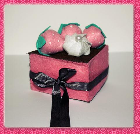 Felt Cake by koshadesing