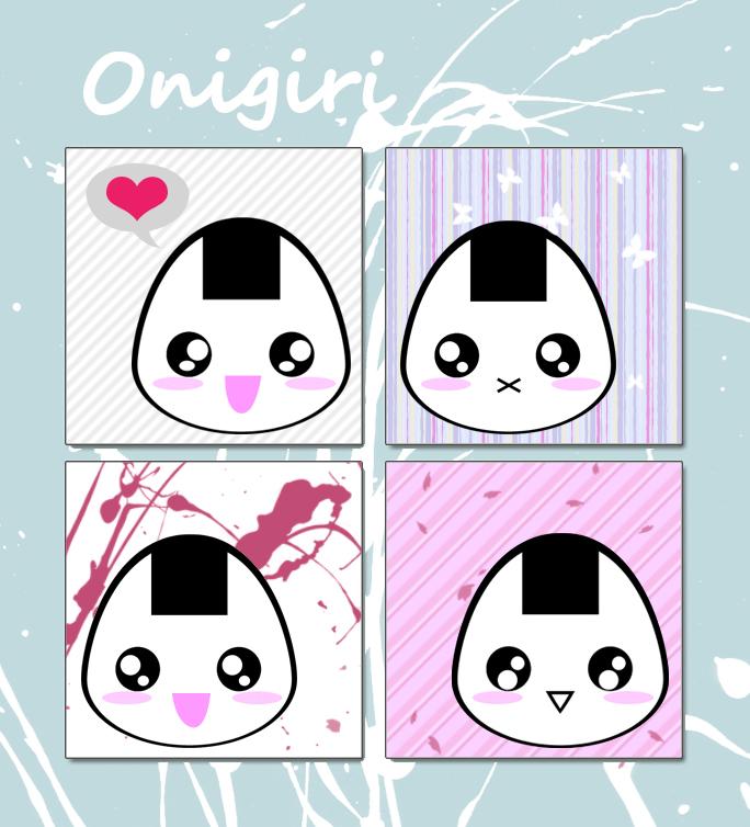 Onigiri by koshadesing