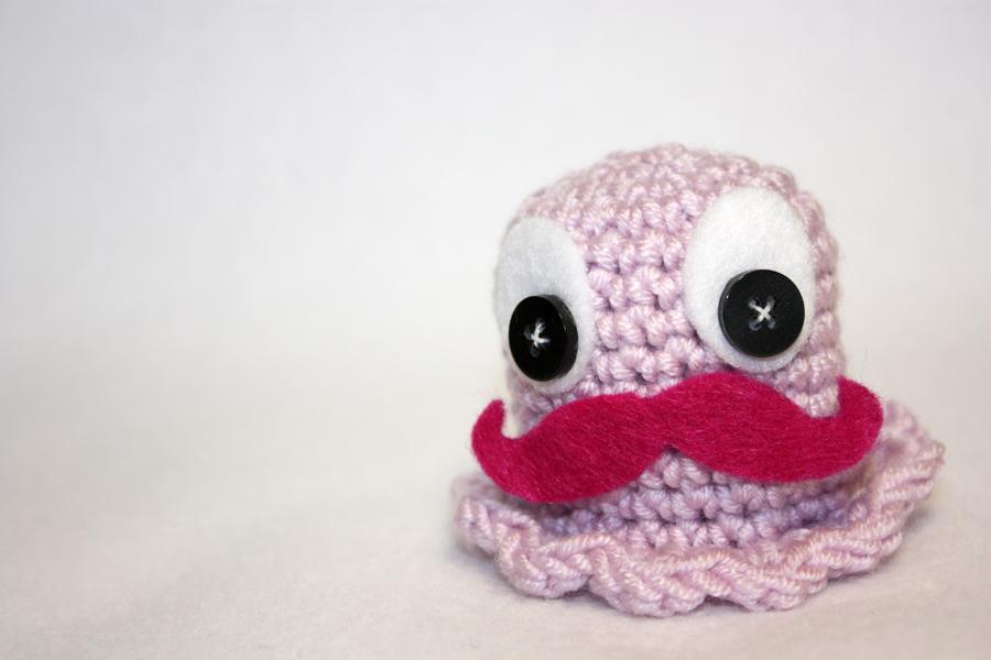 Mustache Monster by koshadesing