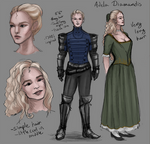 Adela Diamandis  reference sheet by Sinister-Crutch