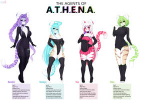 The Agents of A.T.H.E.N.A. by BlushStroke