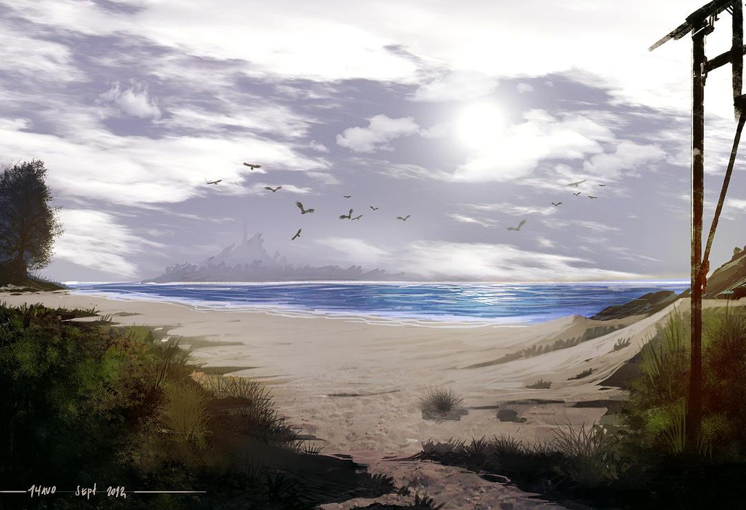Beach by Shev14th