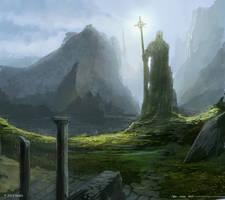 Elenir's Memorial by TSRodriguez
