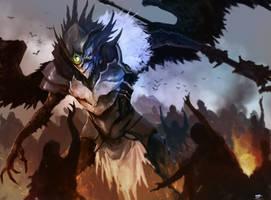 Brotherhood Ravenlord by TSRodriguez