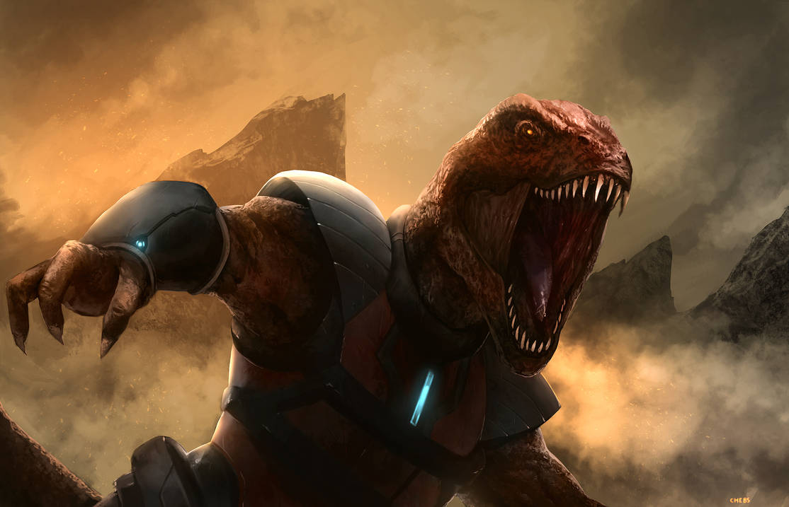Genghis Rex by TSRodriguez