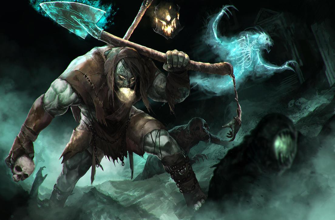 Yorick the Gravedigger fanart by Shev14th