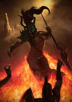 Deimos God of Fear by TSRodriguez