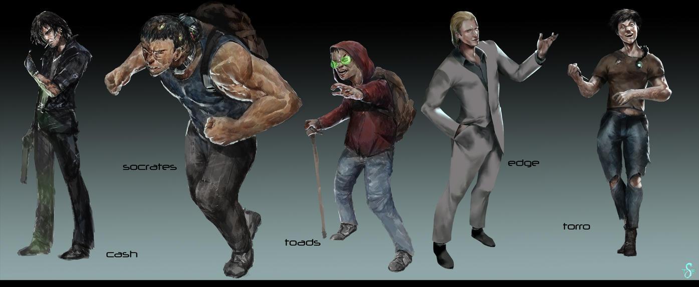 Gang Concept Art by Shev14th