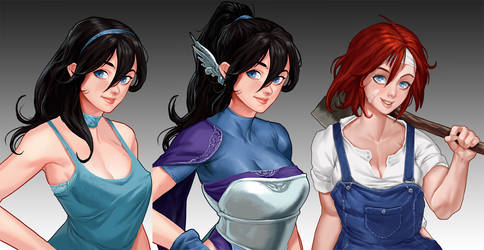 Eroquest! - Demo Characters