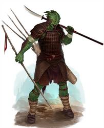 Okaru - Bloodrager Nagaji