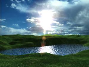Blue-Lake Sun