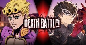 Giorno vs Joker DEATH BATTLE!!!!!!!!!!!!!!!!!
