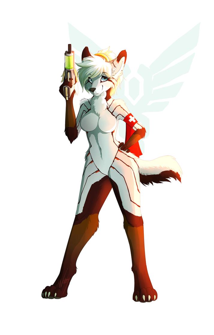 furry Amo, The Furry Mercy [speedpaint] by WolFirry ...