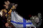 Finnish 100th anniversary - Transformice Style by Jatatorr