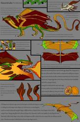 Ilaurenda the Golden Heart Reference by Valkyryn